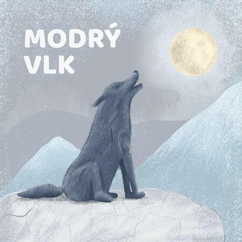 Modrý vlk
