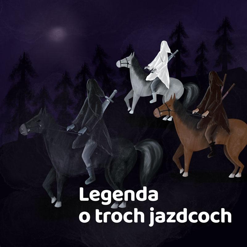 Legenda o troch jazdcoch